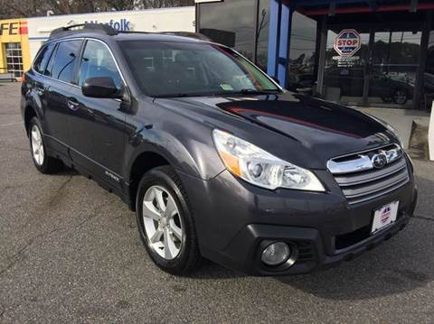 2013 Subaru Outback for sale at 1 Stop Auto in Norfolk VA