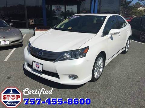 2010 Lexus HS 250h for sale at 1 Stop Auto in Norfolk VA