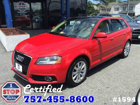 2011 Audi A3 for sale at 1 Stop Auto in Norfolk VA