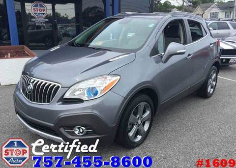 2014 Buick Encore for sale at 1 Stop Auto in Norfolk VA