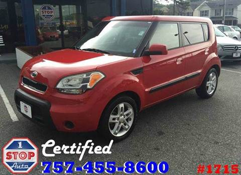 2010 Kia Soul for sale at 1 Stop Auto in Norfolk VA