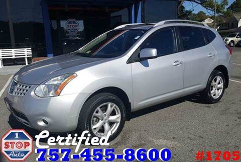 2008 Nissan Rogue for sale at 1 Stop Auto in Norfolk VA