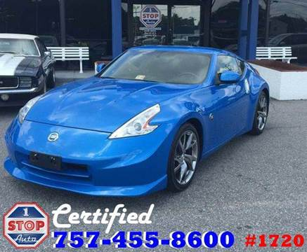 2009 Nissan 370Z for sale at 1 Stop Auto in Norfolk VA