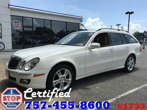 2007 Mercedes-Benz E-Class for sale at 1 Stop Auto in Norfolk VA