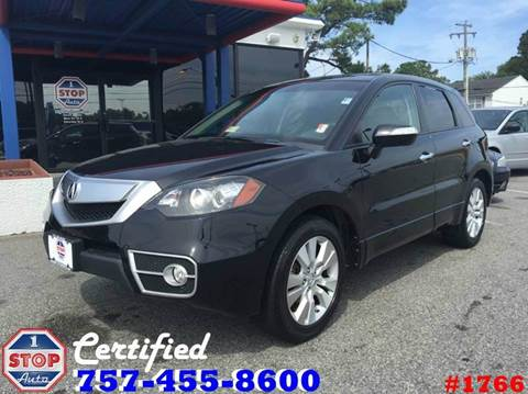 2012 Acura RDX for sale at 1 Stop Auto in Norfolk VA