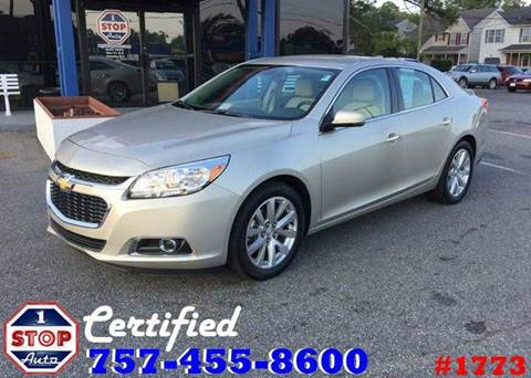 2016 Chevrolet Malibu Limited for sale at 1 Stop Auto in Norfolk VA