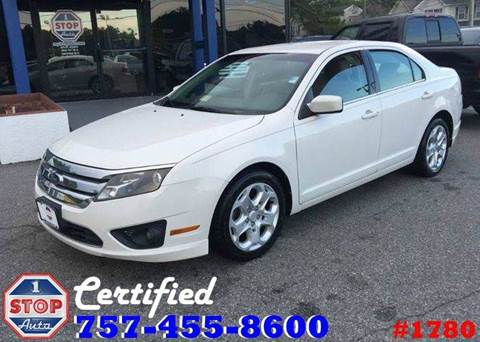 2010 Ford Fusion for sale at 1 Stop Auto in Norfolk VA