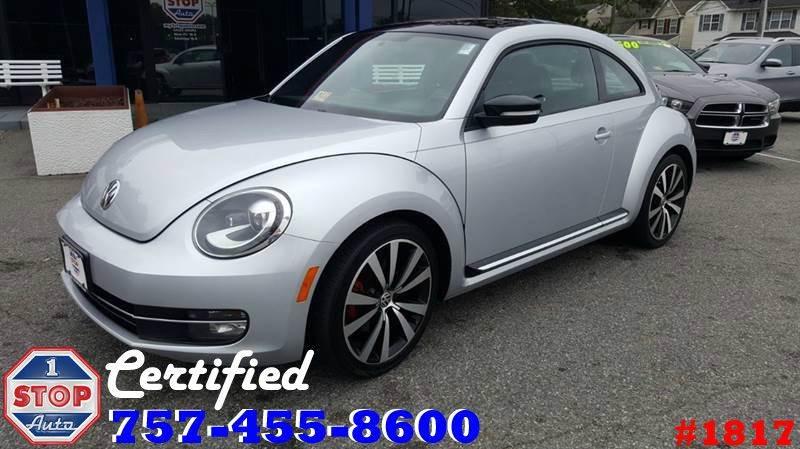 2012 Volkswagen Beetle for sale at 1 Stop Auto in Norfolk VA
