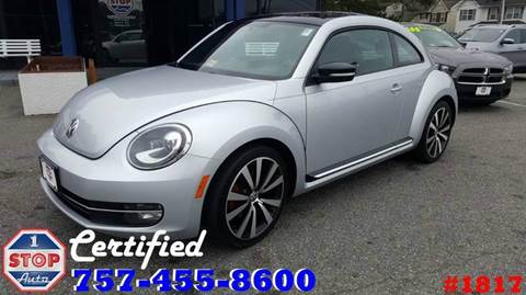 2012 Volkswagen Beetle for sale at 1 Stop Auto in Norfolk VA