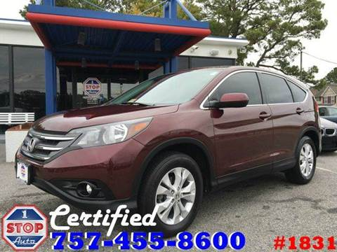 2014 Honda CR-V for sale at 1 Stop Auto in Norfolk VA
