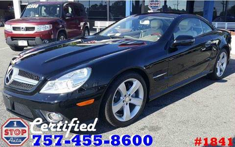 2009 Mercedes-Benz SL-Class for sale at 1 Stop Auto in Norfolk VA