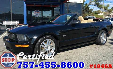 2005 Ford Mustang for sale at 1 Stop Auto in Norfolk VA