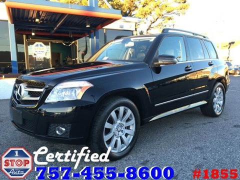 2012 Mercedes-Benz GLK for sale at 1 Stop Auto in Norfolk VA