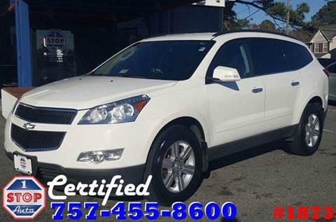 2012 Chevrolet Traverse for sale at 1 Stop Auto in Norfolk VA