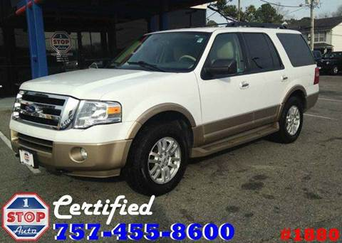 2014 Ford Expedition for sale at 1 Stop Auto in Norfolk VA