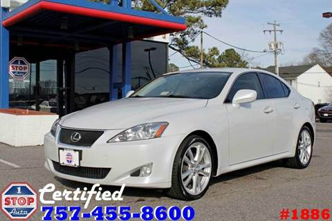 2006 Lexus IS 250 for sale at 1 Stop Auto in Norfolk VA