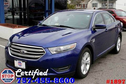 2014 Ford Taurus for sale at 1 Stop Auto in Norfolk VA