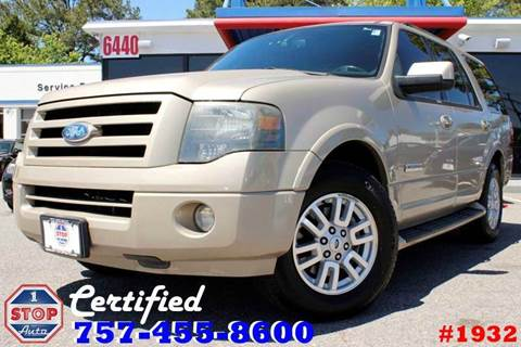2007 Ford Expedition for sale at 1 Stop Auto in Norfolk VA