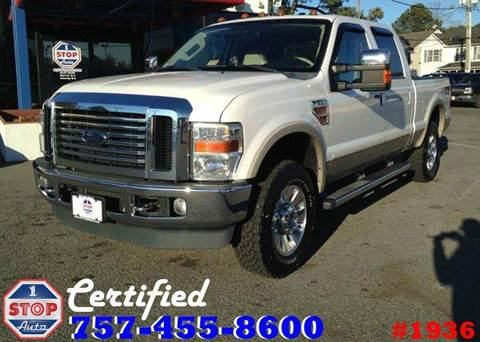 2010 Ford F-250 Super Duty for sale at 1 Stop Auto in Norfolk VA