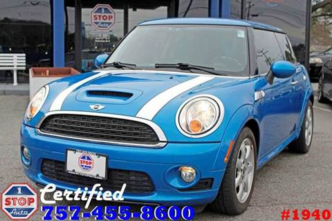 2010 MINI Cooper for sale at 1 Stop Auto in Norfolk VA