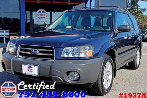 2005 Subaru Forester for sale at 1 Stop Auto in Norfolk VA