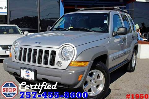2006 Jeep Liberty for sale at 1 Stop Auto in Norfolk VA