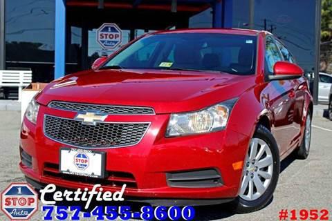 2011 Chevrolet Cruze for sale at 1 Stop Auto in Norfolk VA