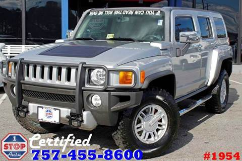 2009 HUMMER H3 for sale at 1 Stop Auto in Norfolk VA