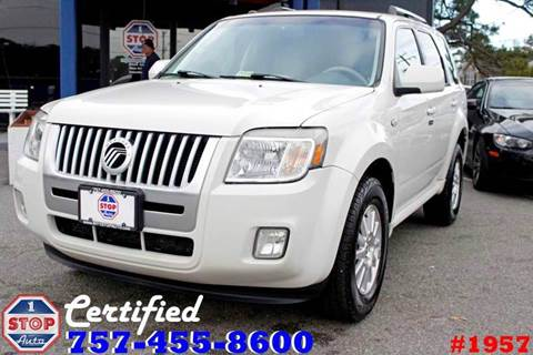 2009 Mercury Mariner for sale at 1 Stop Auto in Norfolk VA