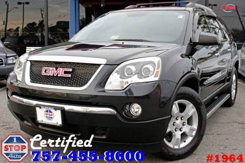 2011 GMC Acadia for sale at 1 Stop Auto in Norfolk VA