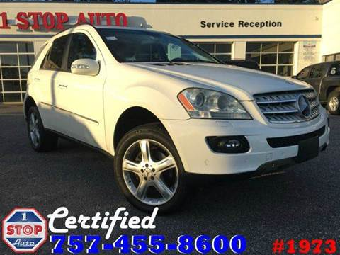 2006 Mercedes-Benz M-Class for sale at 1 Stop Auto in Norfolk VA