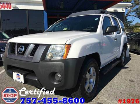 2007 Nissan Xterra for sale at 1 Stop Auto in Norfolk VA