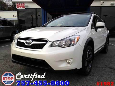 2014 Subaru XV Crosstrek for sale at 1 Stop Auto in Norfolk VA