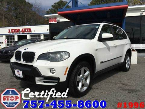 2008 BMW X5 for sale at 1 Stop Auto in Norfolk VA