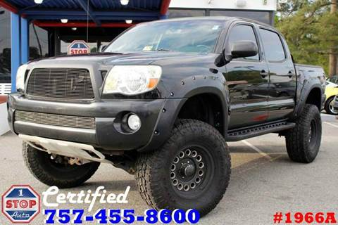 2008 Toyota Tacoma for sale at 1 Stop Auto in Norfolk VA