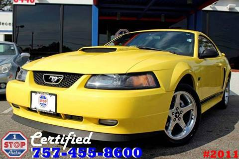 2003 Ford Mustang for sale at 1 Stop Auto in Norfolk VA