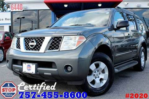 2007 Nissan Pathfinder for sale at 1 Stop Auto in Norfolk VA