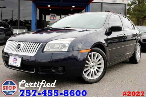 2009 Mercury Milan for sale at 1 Stop Auto in Norfolk VA