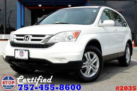 2011 Honda CR-V for sale at 1 Stop Auto in Norfolk VA