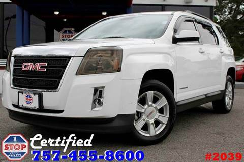 2013 GMC Terrain for sale at 1 Stop Auto in Norfolk VA
