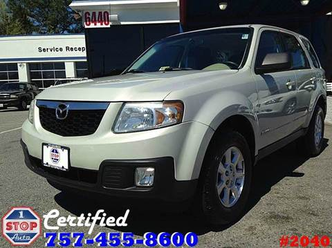 2008 Mazda Tribute for sale at 1 Stop Auto in Norfolk VA