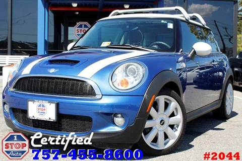 2007 MINI Cooper for sale at 1 Stop Auto in Norfolk VA