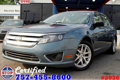 2011 Ford Fusion for sale at 1 Stop Auto in Norfolk VA