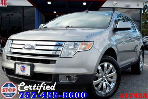 2008 Ford Edge for sale at 1 Stop Auto in Norfolk VA