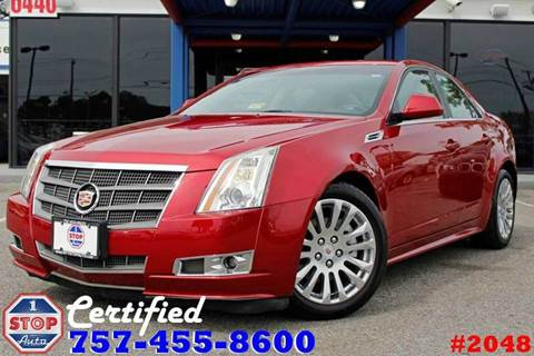 2010 Cadillac CTS for sale at 1 Stop Auto in Norfolk VA