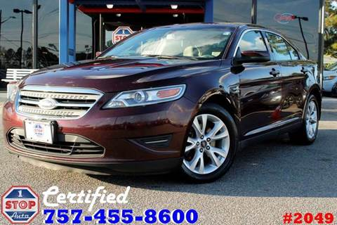 2011 Ford Taurus for sale at 1 Stop Auto in Norfolk VA