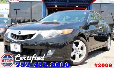 2009 Acura TSX for sale at 1 Stop Auto in Norfolk VA
