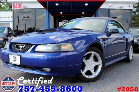 2004 Ford Mustang for sale at 1 Stop Auto in Norfolk VA