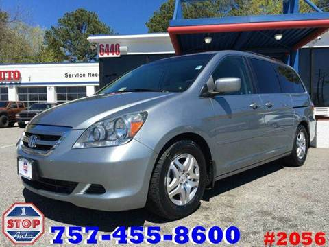 2007 Honda Odyssey for sale at 1 Stop Auto in Norfolk VA