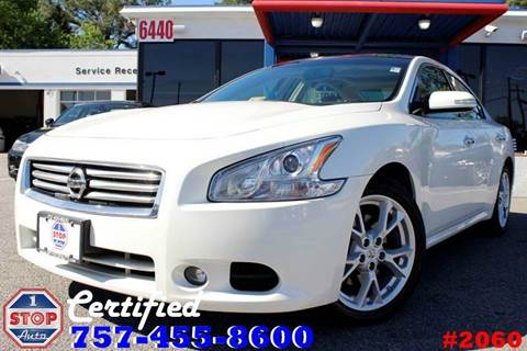 2014 Nissan Maxima for sale at 1 Stop Auto in Norfolk VA